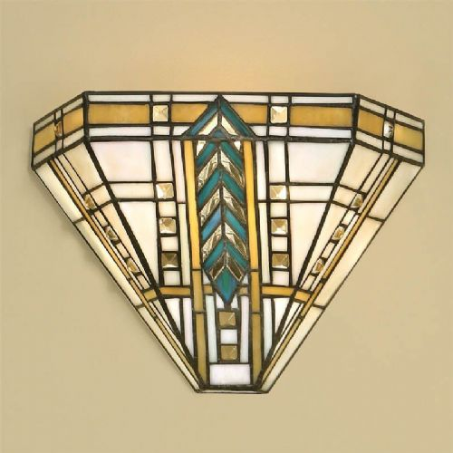 Lloyd Wall Light (Art Deco, Wall Lamp) T044W (Tiffany style)